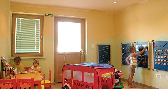 Spielraum für Kinder - Camping Inntal