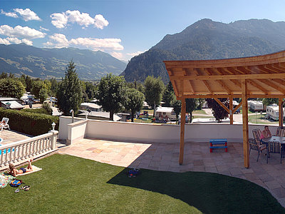Outdoor-Pool - Camping Inntal