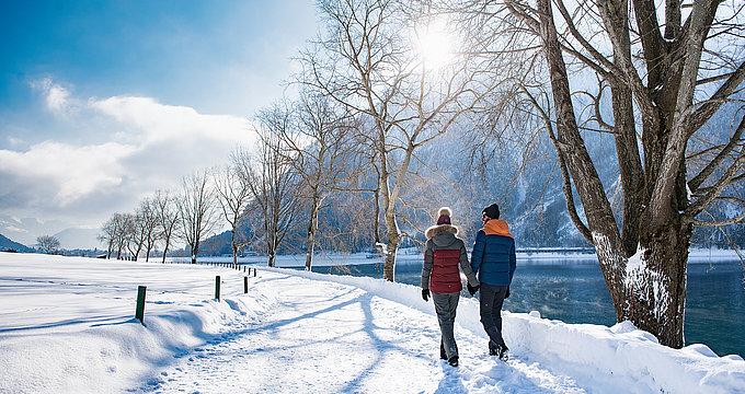 Winterwandern in Maurach am Achensee | © Achensee Tourismus