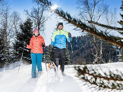 Schneeschuhwandern in Steinberg am Rofan | © Achensee Tourismus