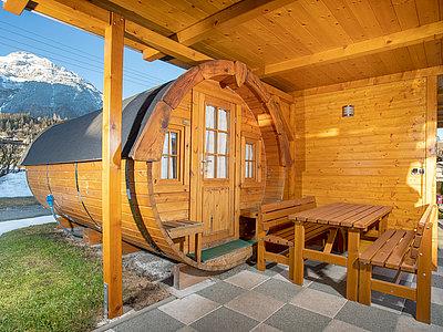 Campingfass für 2 Personen - Camping Inntal