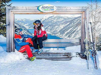 Skifahren im Karwendel | © Achensee Tourismus