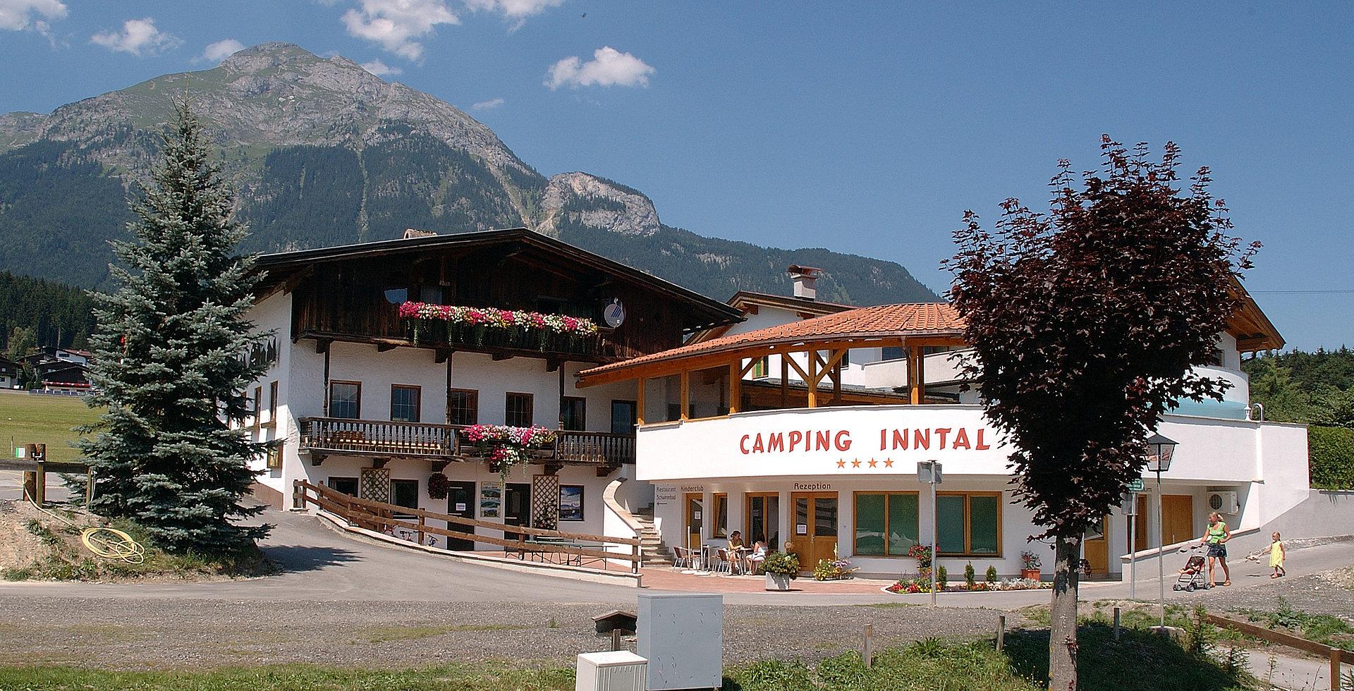 Rezeptionsgebäude Camping Inntal