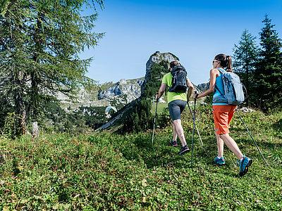 Wandern im Rofangebirge am Achensee | © Achensee Tourismus