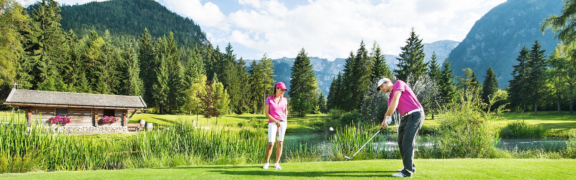 Golfen am Achensee | © Achensee Tourismus