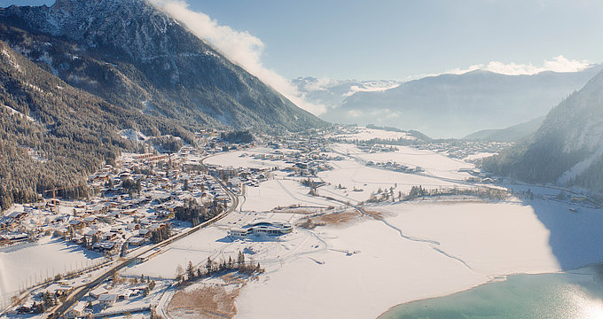 Winterwunderland in Maurach am Achensee | © Achensee Tourismus