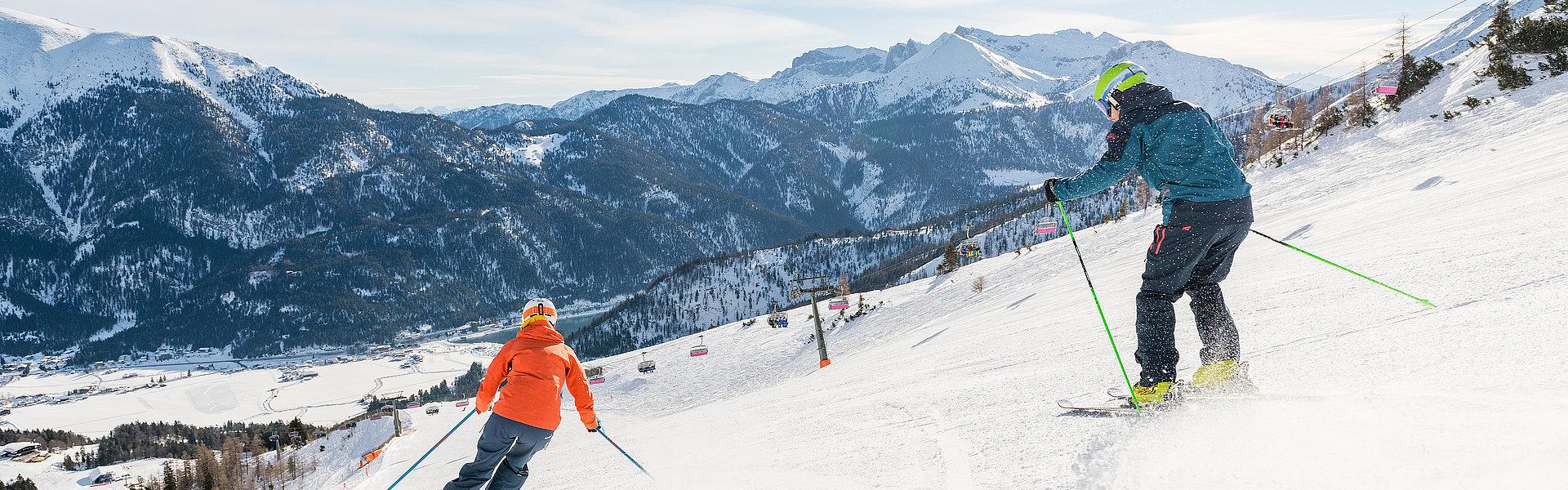 Skifahren in Achenkirch am Achensee | © Achensee Tourismus