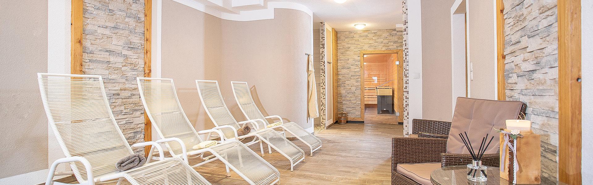 Saunabereich - Camping Inntal